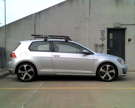 Roof Rack For 3 Door Golfmk7 Vw Gti Mkvii Forum Vw