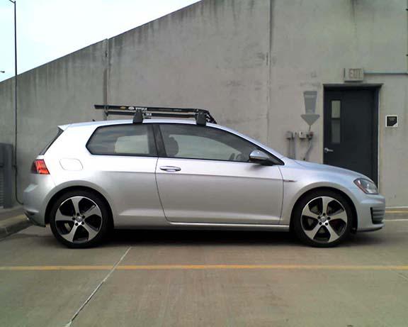Roof Rack For 3 Door Golfmk7 Vw Gti Mkvii Forum Vw Golf R Forum Vw Golf Mkvii Forum