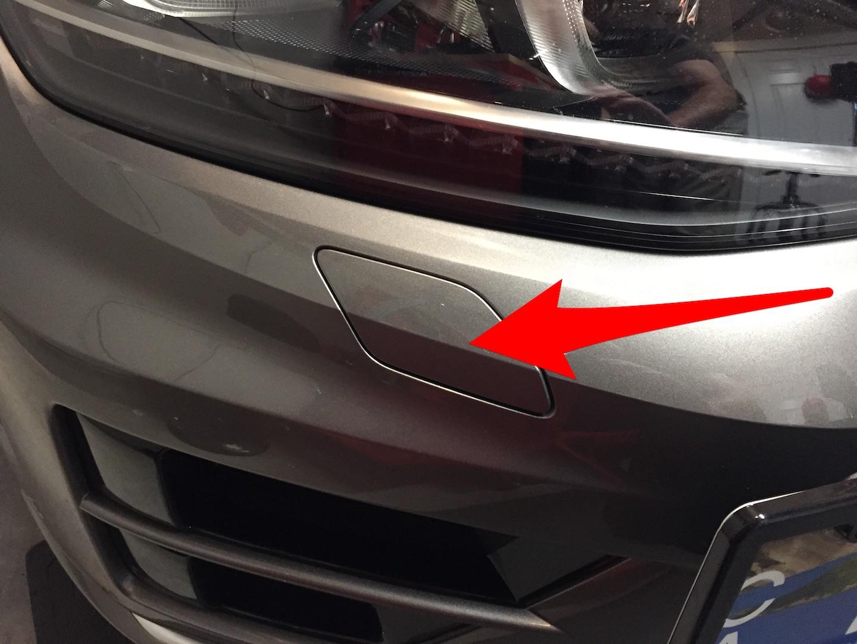 Bumper Cutout Below Passenger Headlight Popped Out Golfmk7 Vw