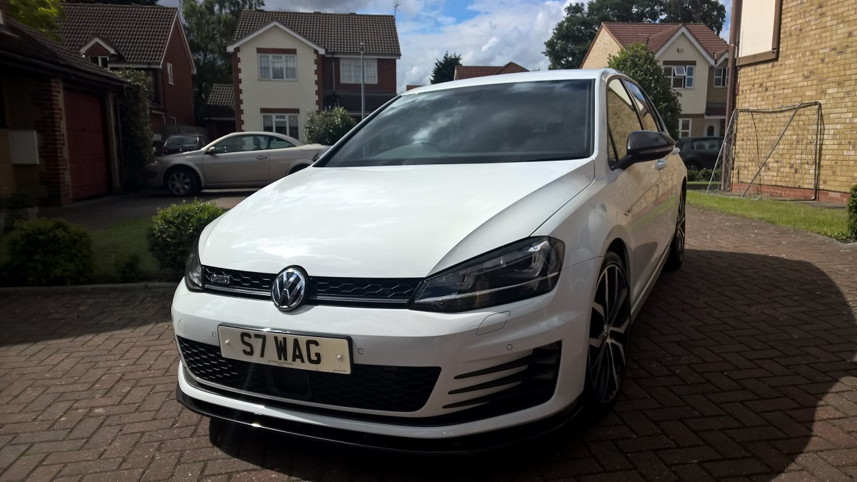 Vw Golf Gtd Maxton Front Spoiler And Srs Tec Rear Roof