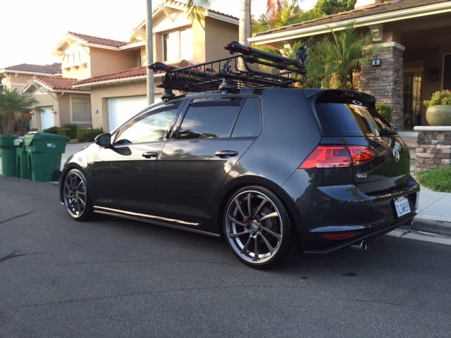 Just Added Vw Window Visors Thoughts Golfmk7 Vw Gti