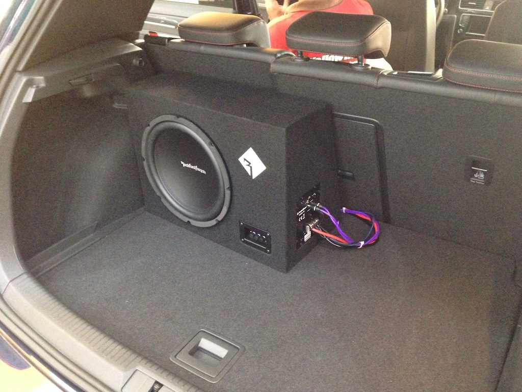 Subwoofer Added On Stock Sound System