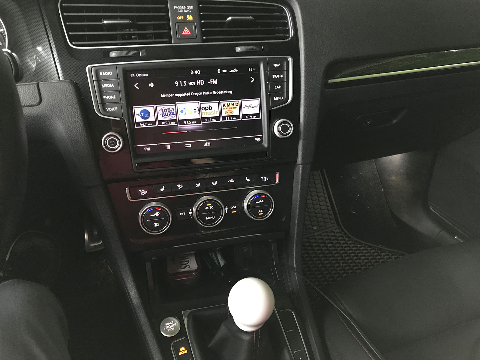 2015 GTI MIB 1 -> MIB 2 Retrofit and VW Central Review