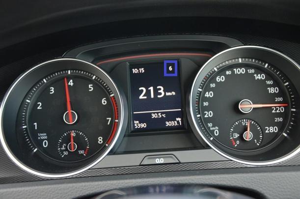 DSG gearbox   what gear am I in?? - GOLFMK7 - VW GTI MKVII Forum