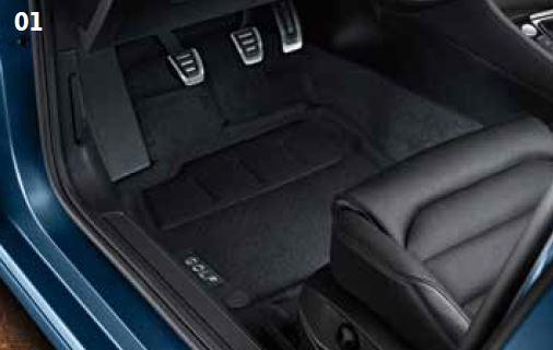 Vw Genuine Luxury Carpet Mats Golfmk7 Vw Gti Mkvii
