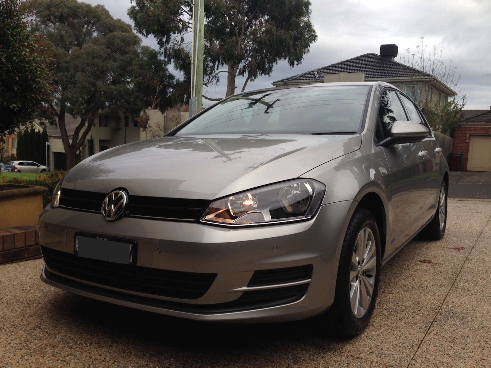 My 2014 Golf Mk7 1 4tsi Tungsten Silver Golfmk7 Vw