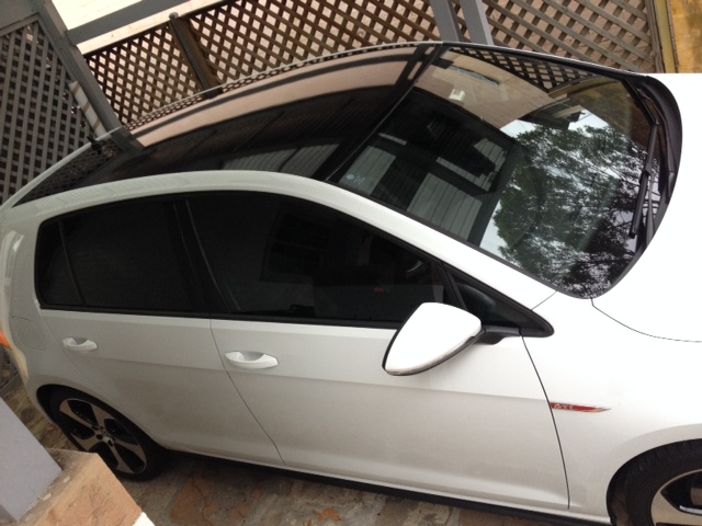 Black Vinyl Roof Wrap Gti Golfmk7 Vw Gti Mkvii Forum