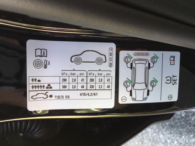 2017 vw gti tire pressure